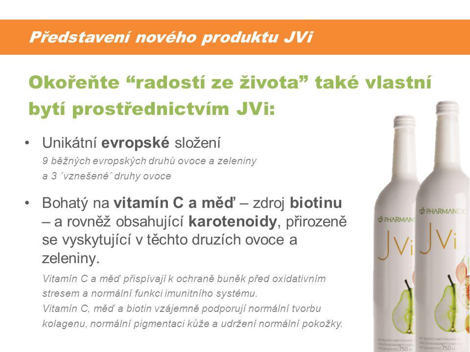 Představení nového produktu JVi