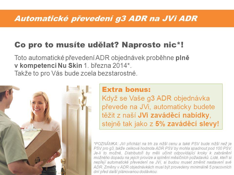 Automatické převedení g3 ADR na JVi ADR