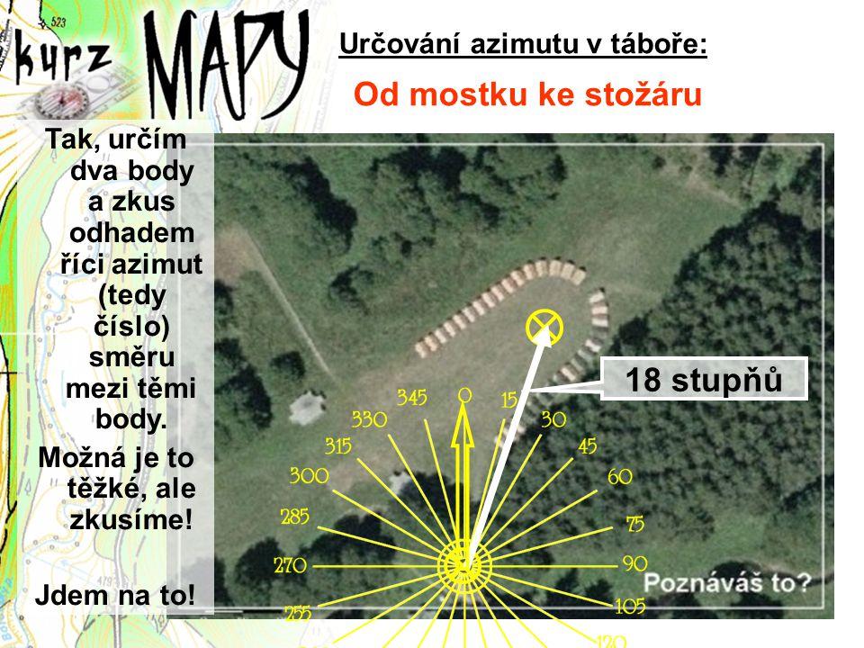 Určování azimutu v táboře: Možná je to těžké, ale zkusíme!