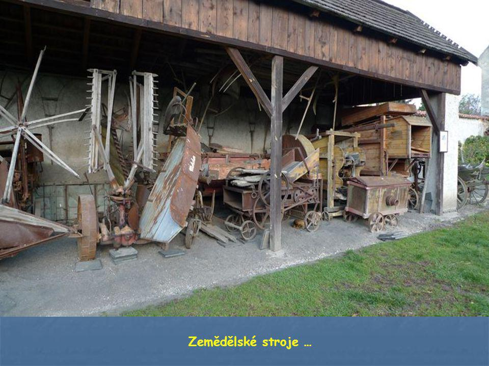 Zemědělské stroje …