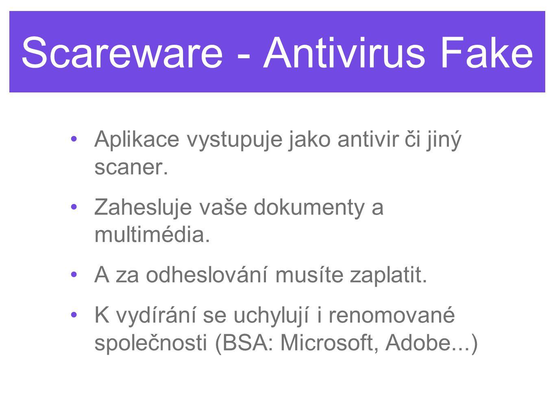 Scareware - Antivirus Fake