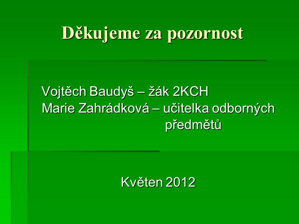 Marie Zahrádková – učitelka odborných