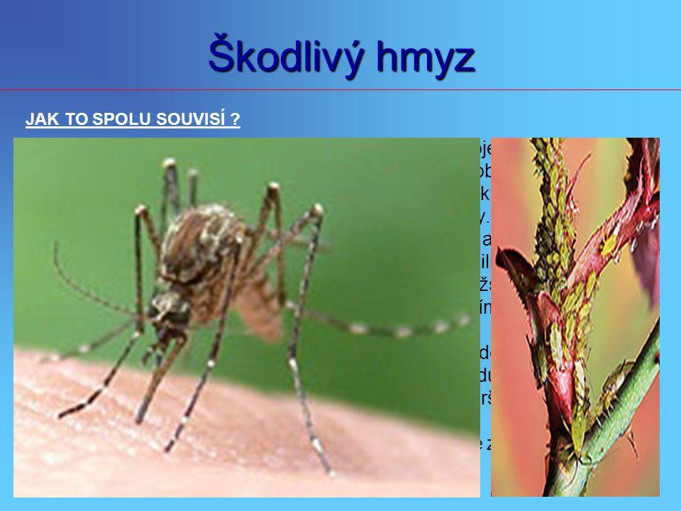Škodlivý hmyz JAK TO SPOLU SOUVISÍ Globální oteplování a extrémní výkyvy počasí s tím spojené, zásadním.