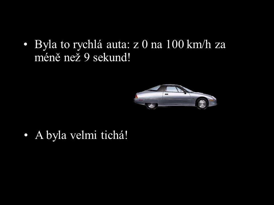 Byla to rychlá auta: z 0 na 100 km/h za méně než 9 sekund!