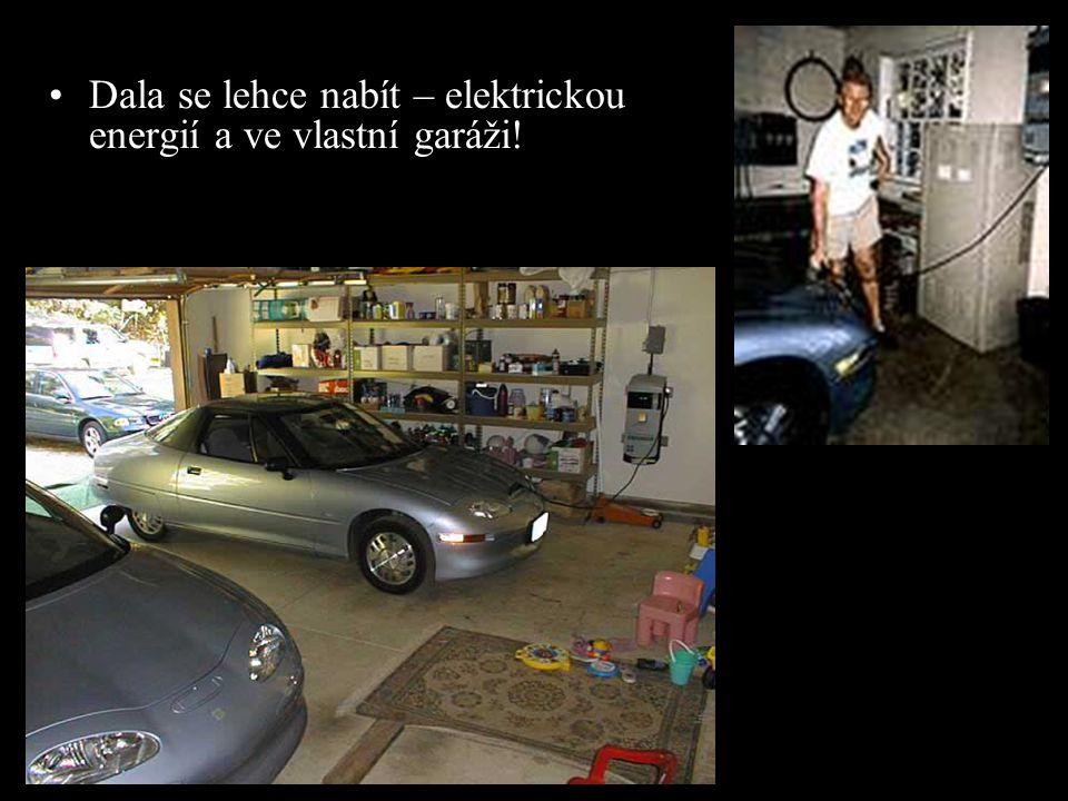 Dala se lehce nabít – elektrickou energií a ve vlastní garáži!