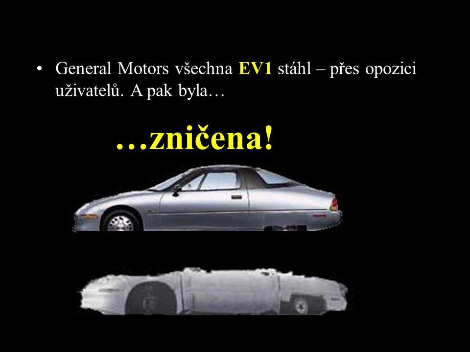 General Motors všechna EV1 stáhl – přes opozici uživatelů. A pak byla…