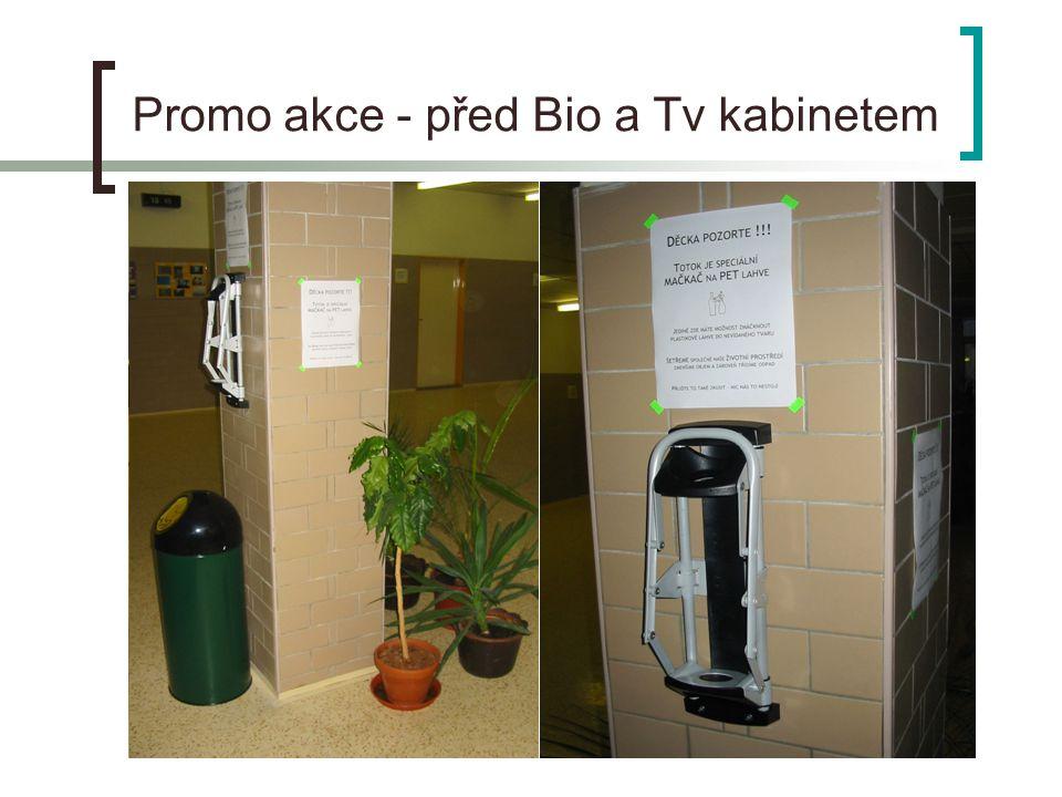 Promo akce - před Bio a Tv kabinetem