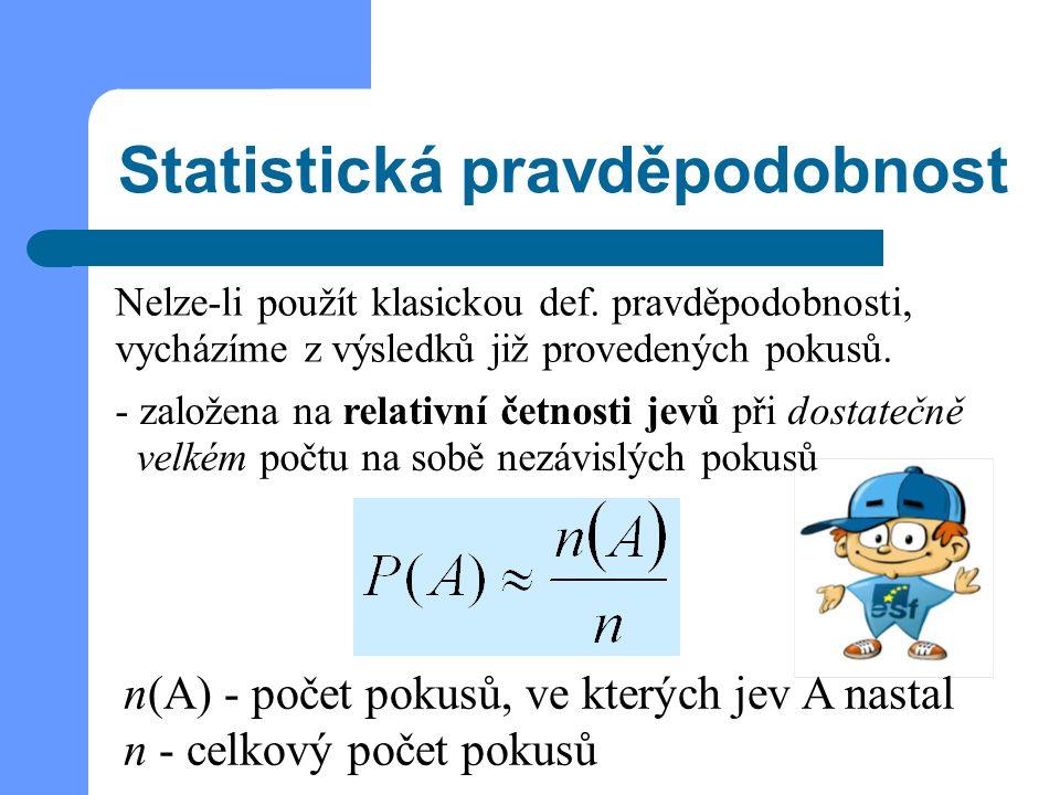 Statistická pravděpodobnost