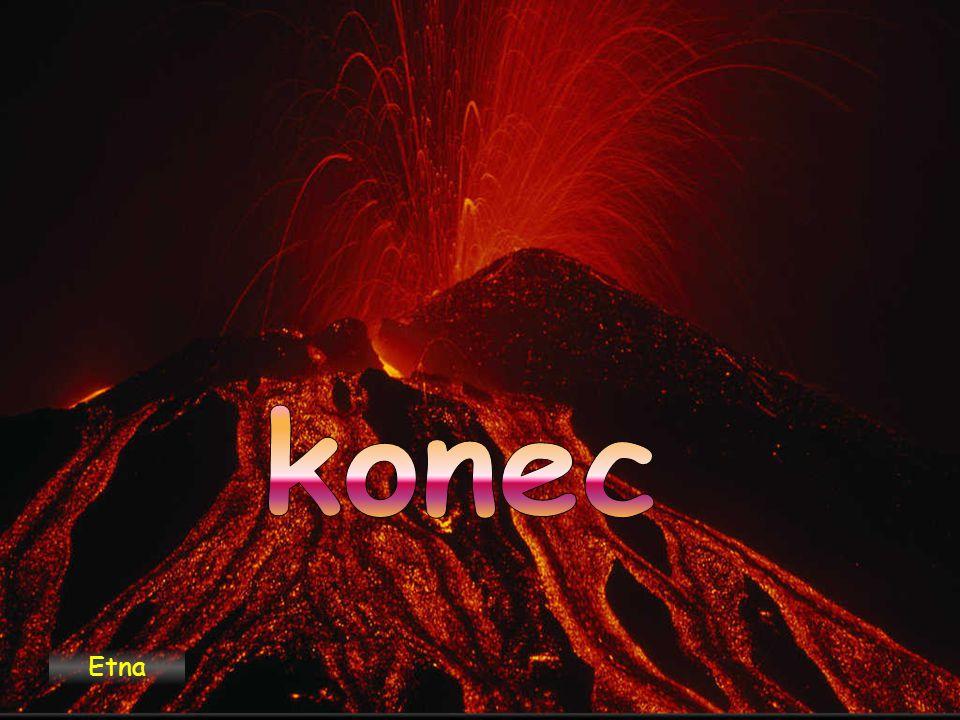 konec Etna