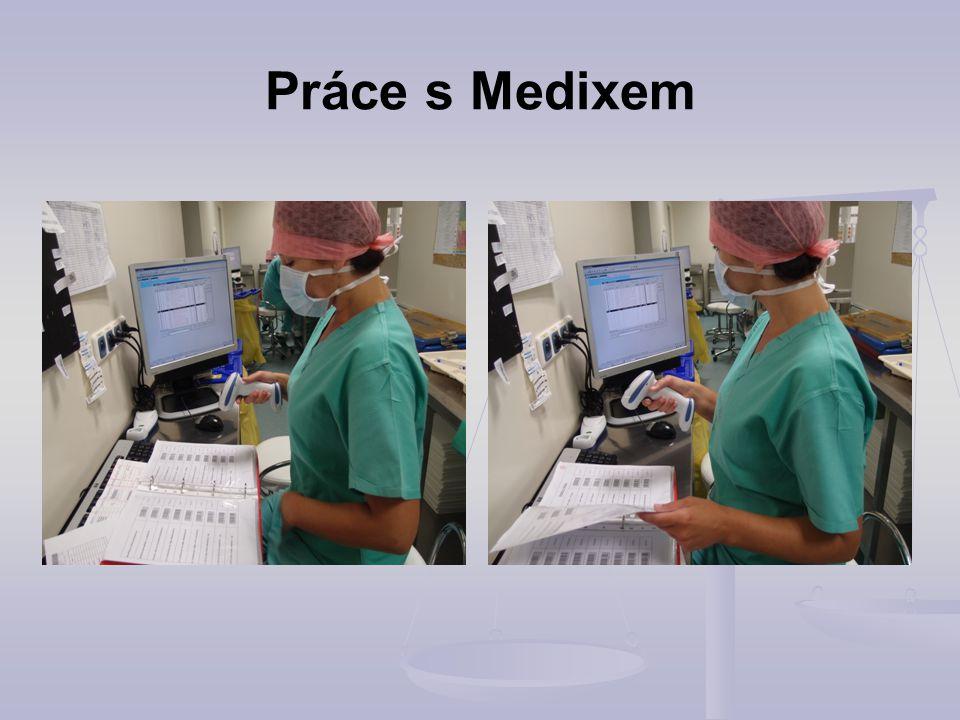 Práce s Medixem
