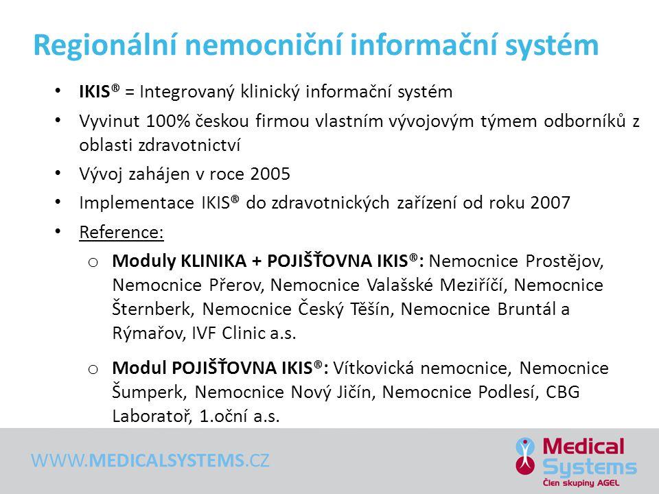 Regionální nemocniční informační systém