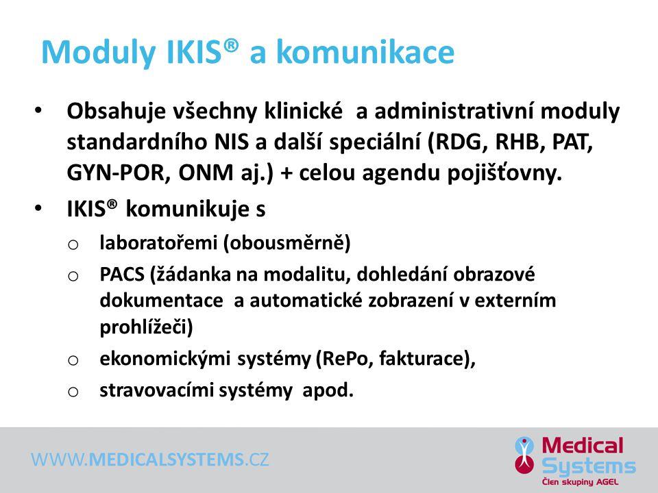 Moduly IKIS® a komunikace