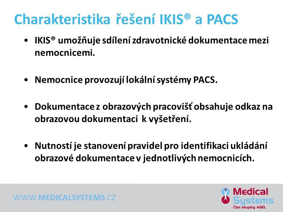 Charakteristika řešení IKIS® a PACS