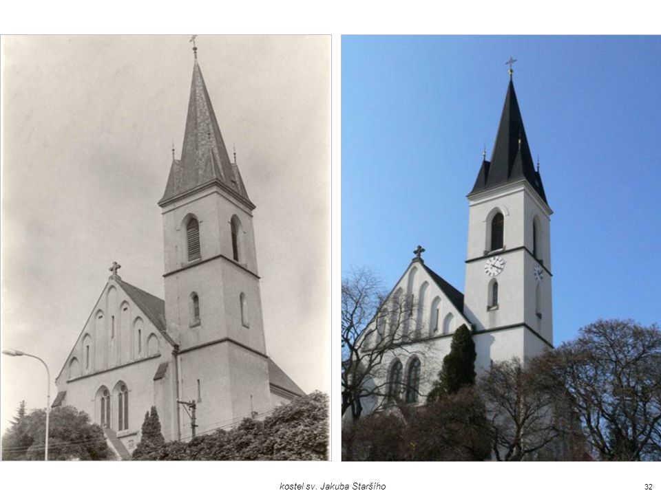 kostel sv. Jakuba Staršího
