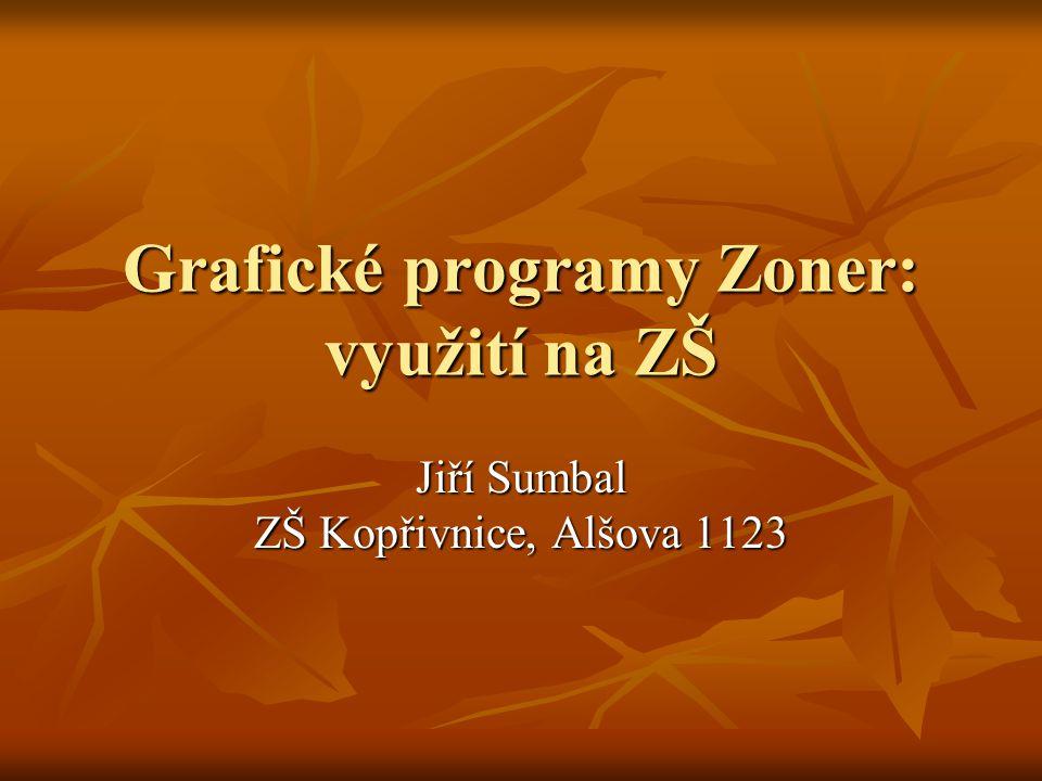 Grafické programy Zoner: využití na ZŠ