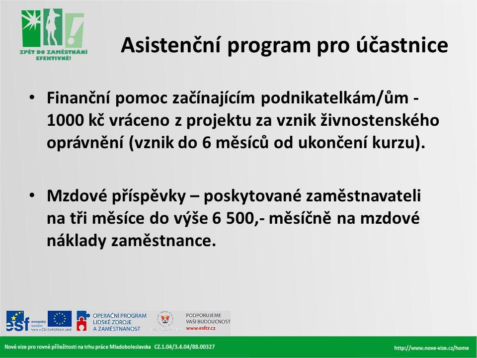 Asistenční program pro účastnice
