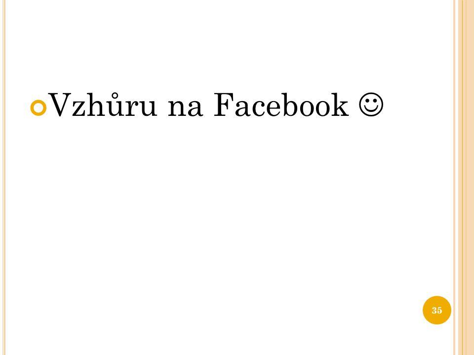 Vzhůru na Facebook 