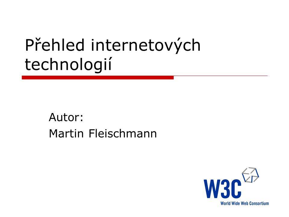 Přehled internetových technologií