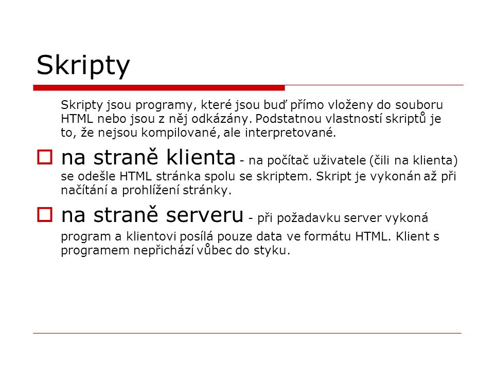 Skripty
