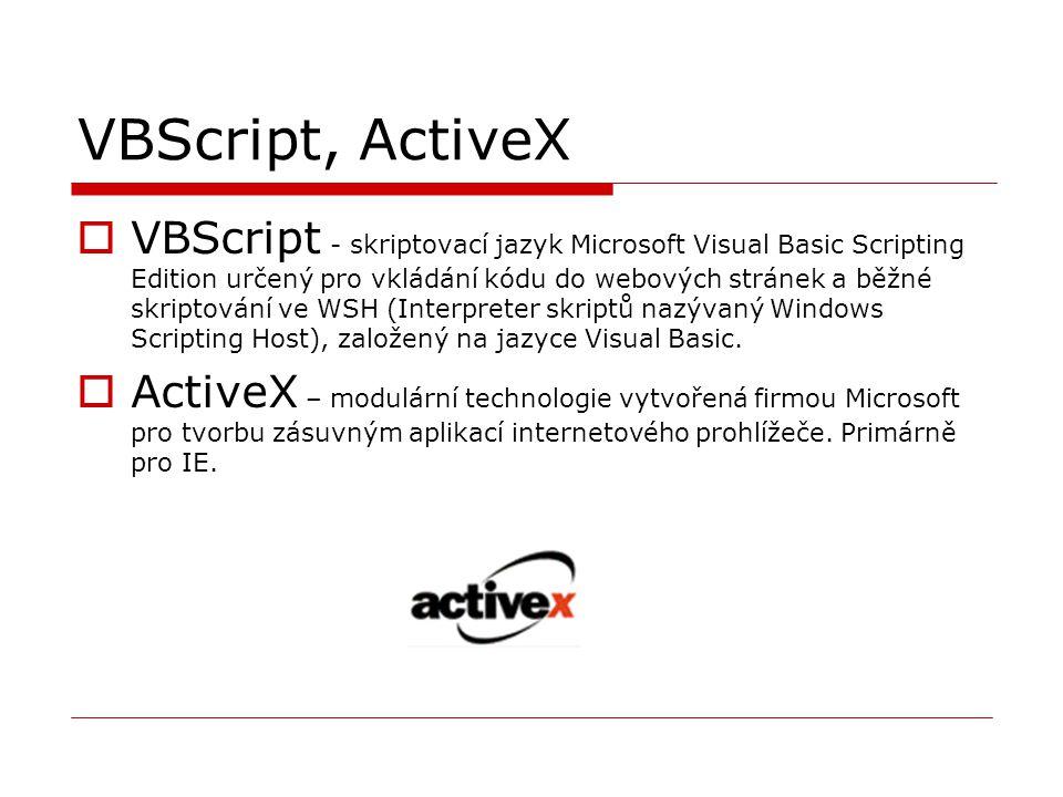 VBScript, ActiveX