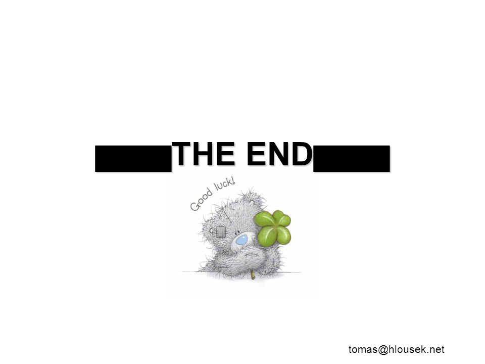 █████THE END█████
