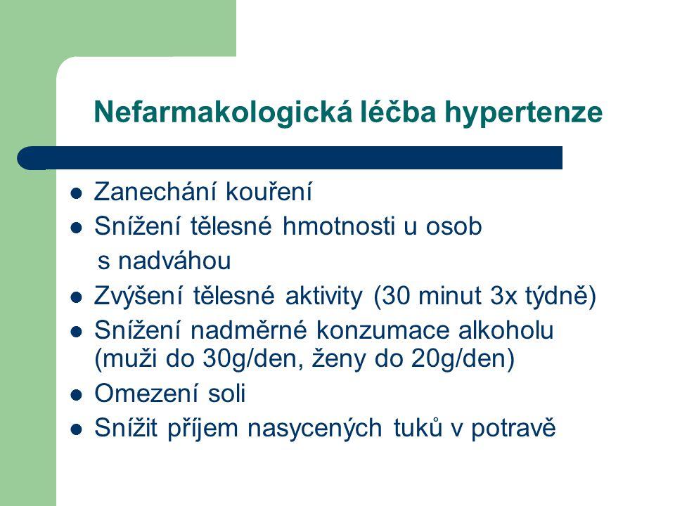 Nefarmakologická léčba hypertenze