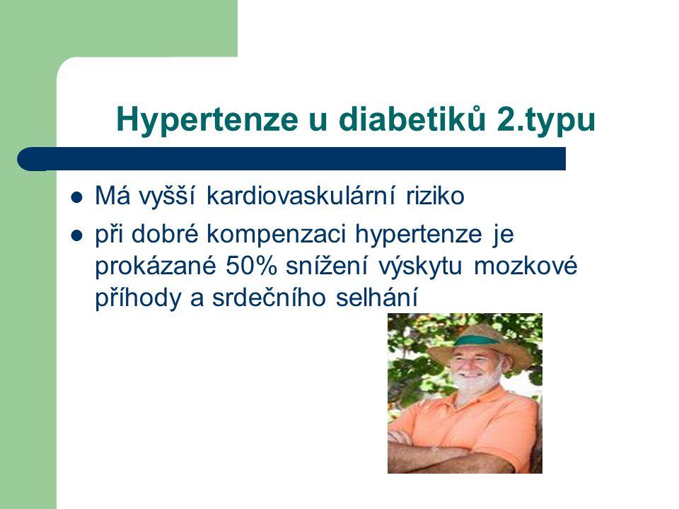 Hypertenze u diabetiků 2.typu