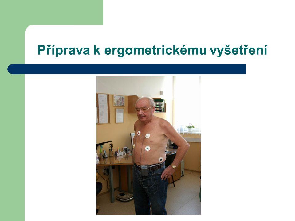 Příprava k ergometrickému vyšetření