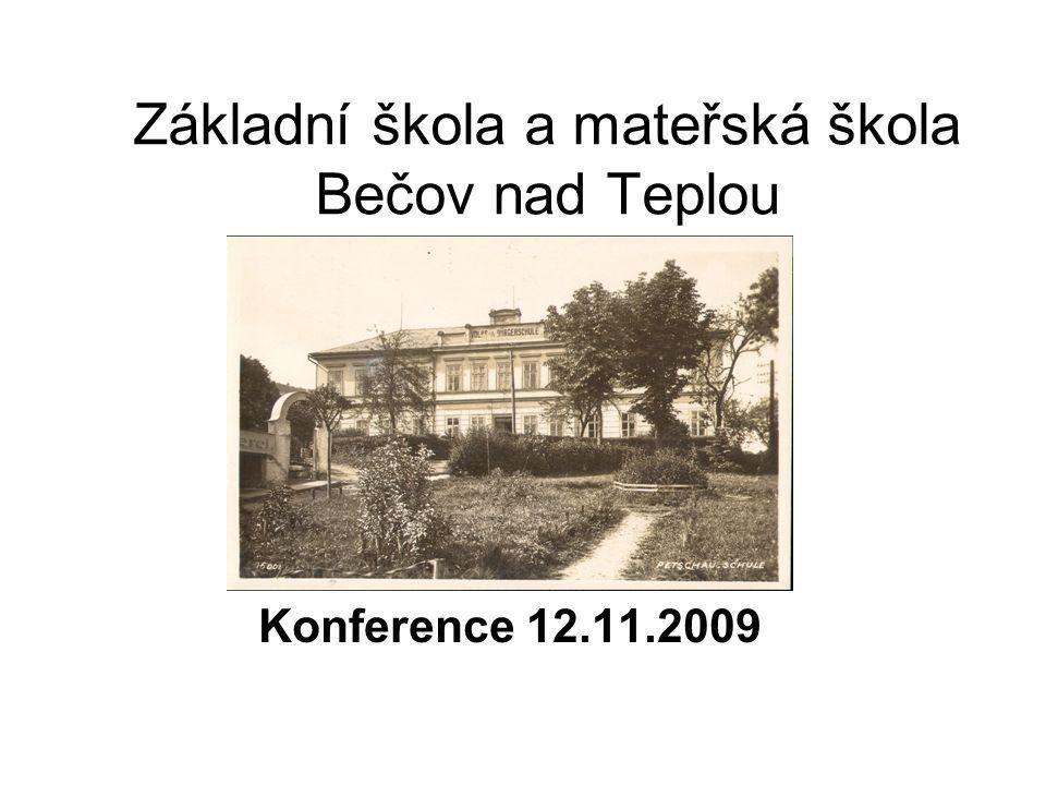 Základní škola a mateřská škola Bečov nad Teplou
