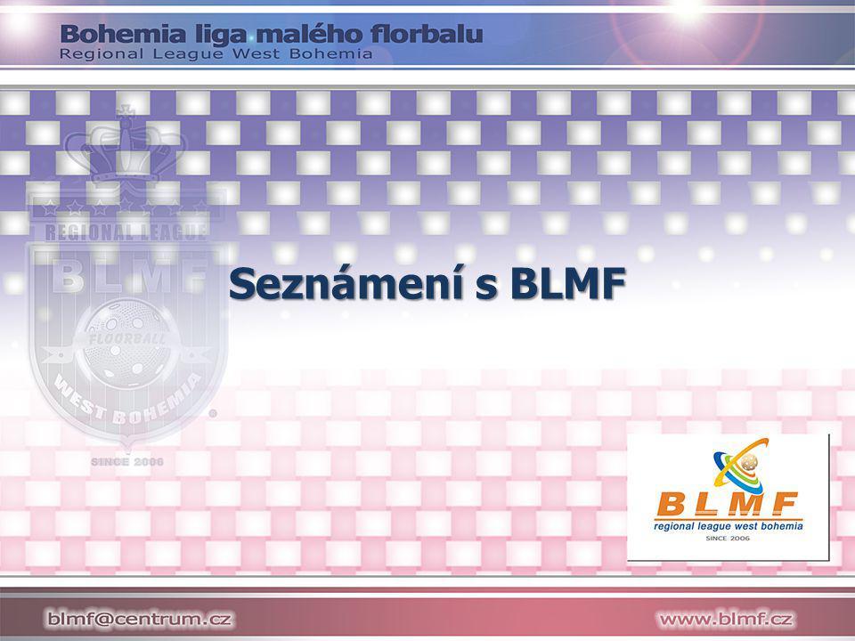 Seznámení s BLMF Prezentace je určená pro nové týmy - získají prvotní přehled o BLMF