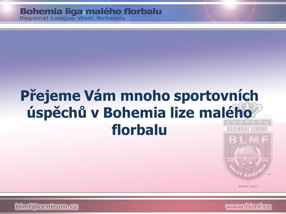 Přejeme Vám mnoho sportovních úspěchů v Bohemia lize malého florbalu