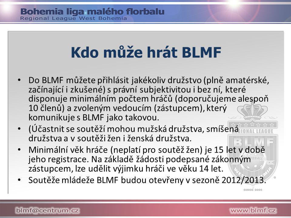 Kdo může hrát BLMF