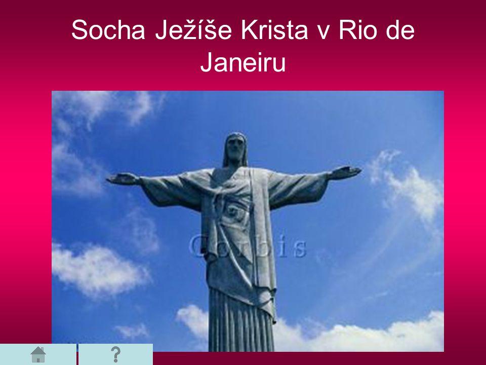 Socha Ježíše Krista v Rio de Janeiru