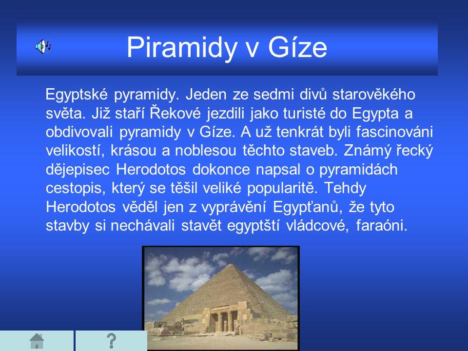 Piramidy v Gíze