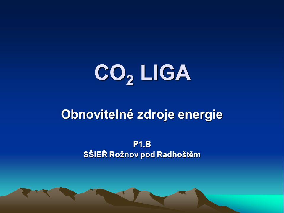 Obnovitelné zdroje energie P1.B SŠIEŘ Rožnov pod Radhoštěm