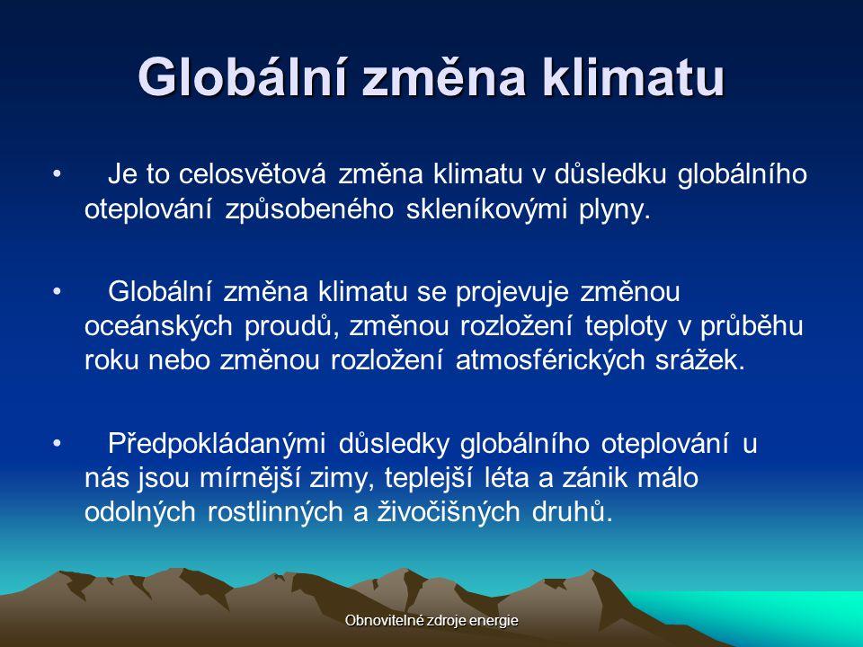Globální změna klimatu