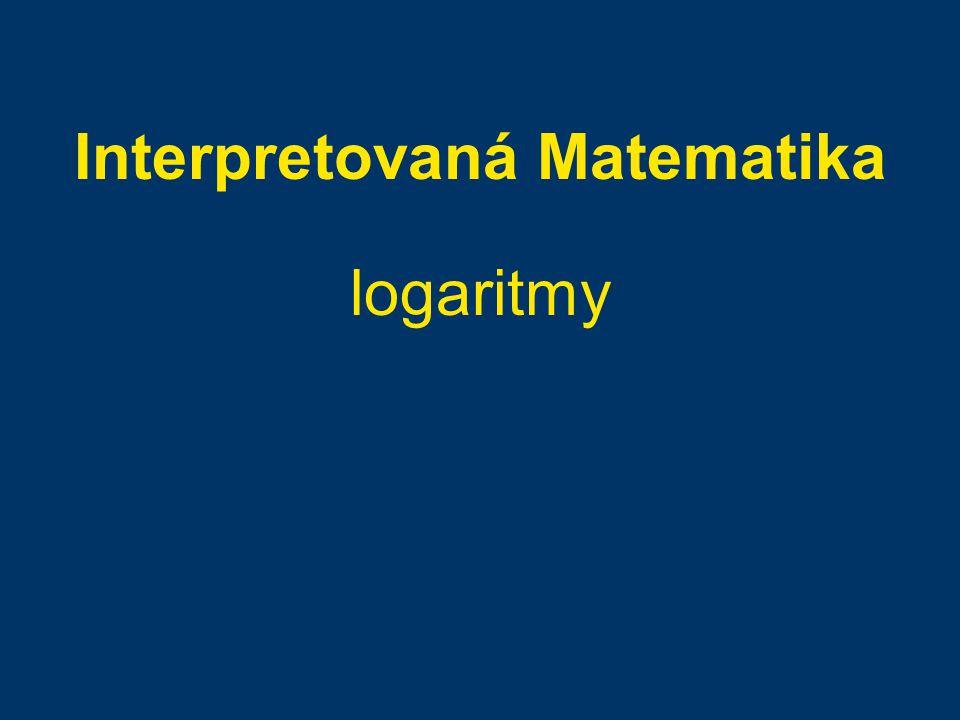 Interpretovaná Matematika