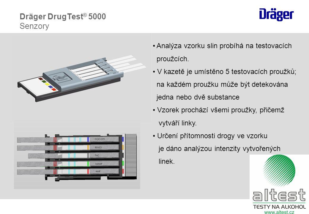 Dräger DrugTest® 5000 Senzory