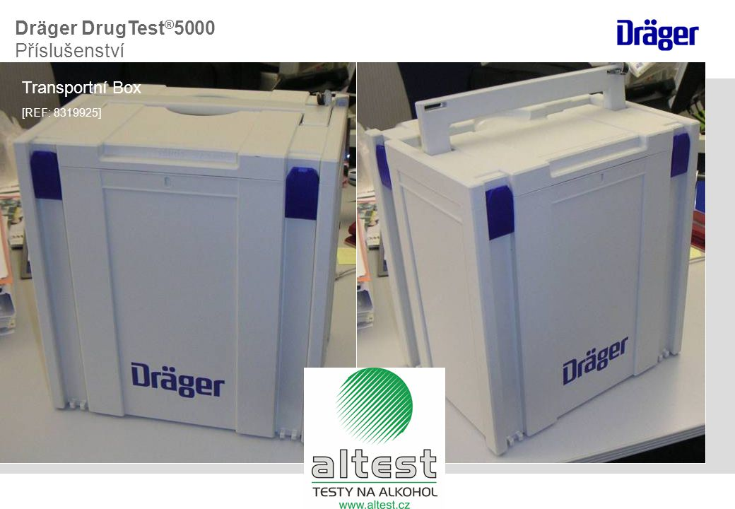 Dräger DrugTest®5000 Příslušenství