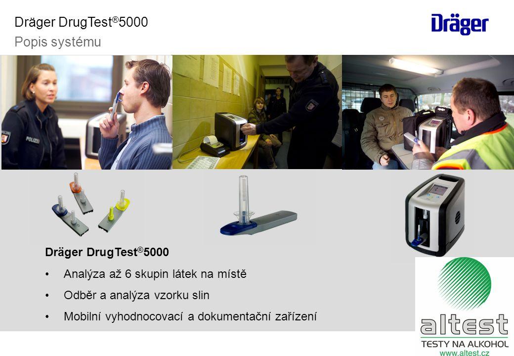 Dräger DrugTest®5000 Popis systému