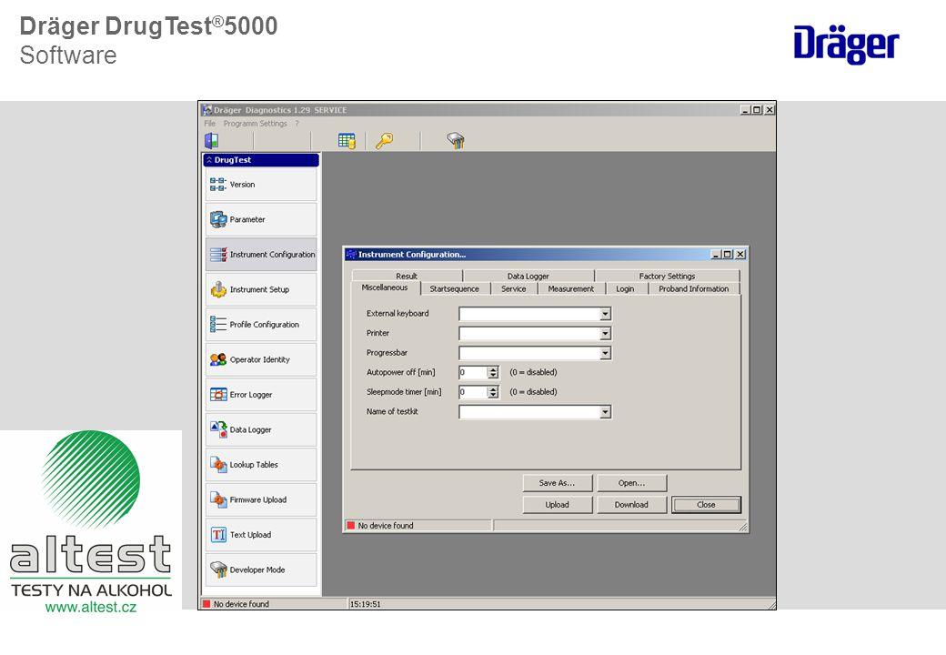 Dräger DrugTest®5000 Software