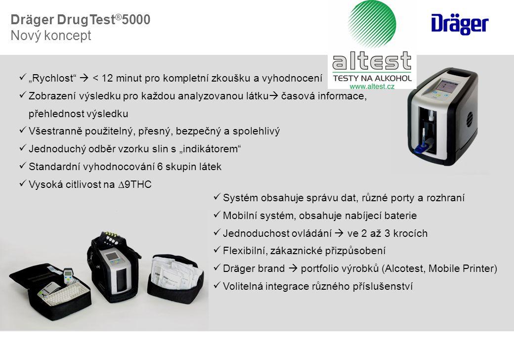 Dräger DrugTest®5000 Nový koncept