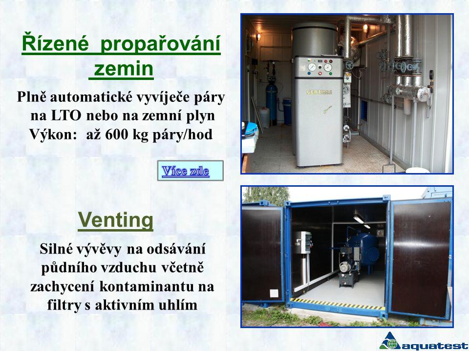 Plně automatické vyvíječe páry na LTO nebo na zemní plyn