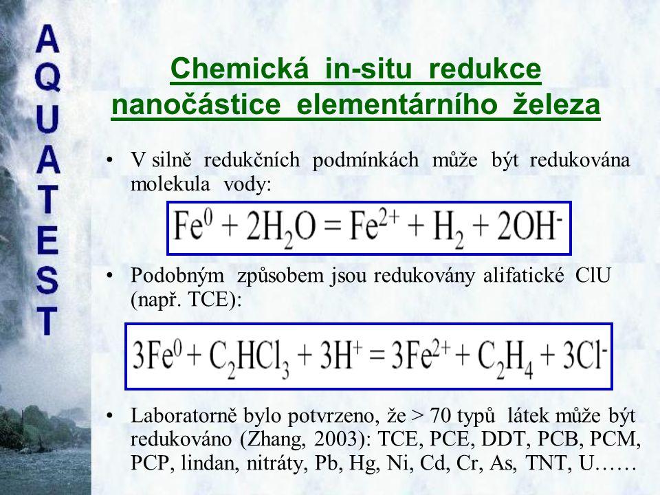 Chemická in-situ redukce nanočástice elementárního železa