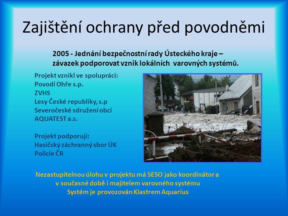 Zajištění ochrany před povodněmi