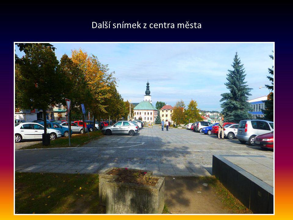 Další snímek z centra města