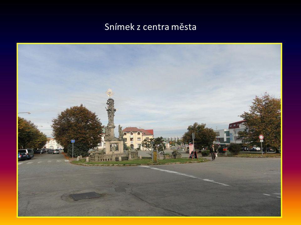 Snímek z centra města
