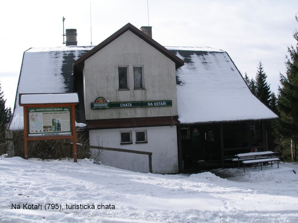 Na Kotaři (795), turistická chata