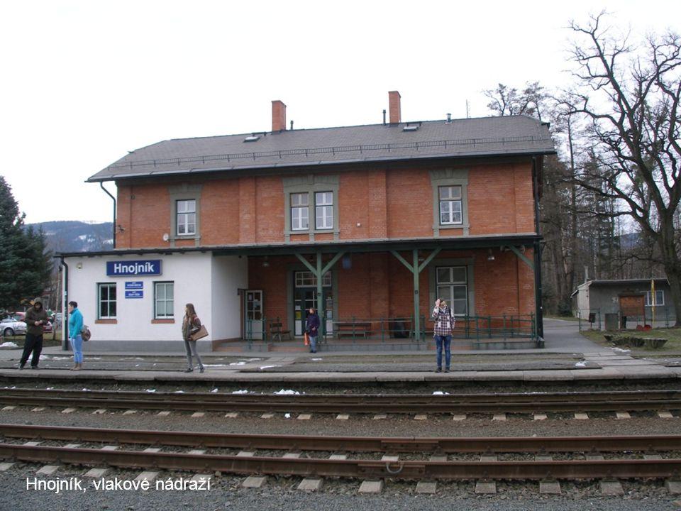 Hnojník, vlakové nádraží