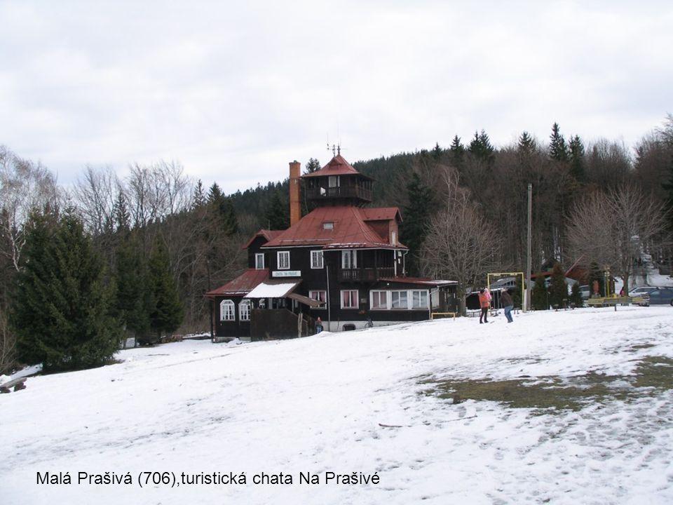Malá Prašivá (706),turistická chata Na Prašivé